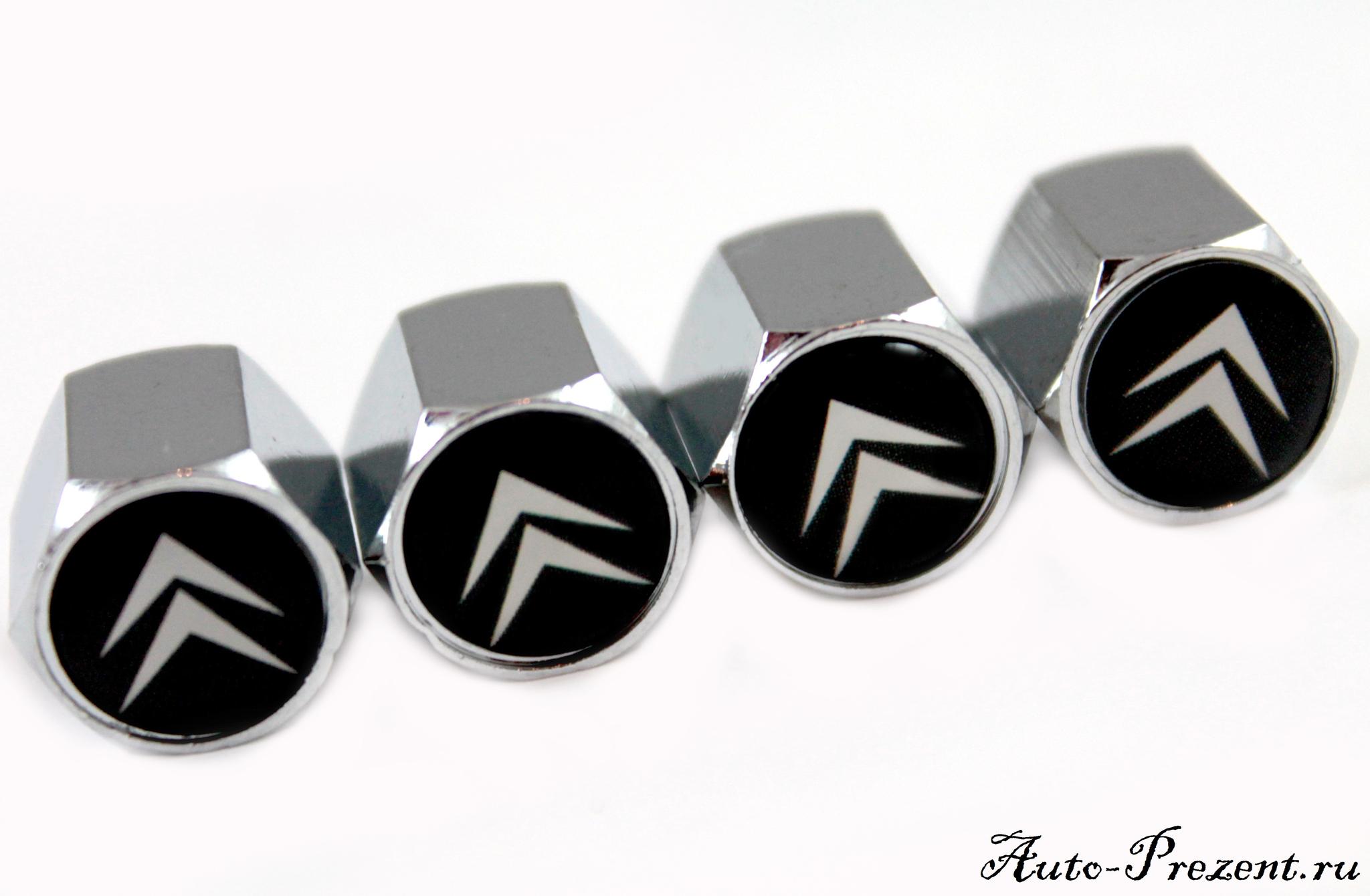 Колпачки на ниппель с логотипом CITROEN