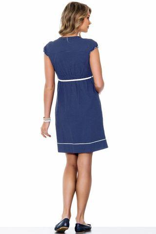 Платье 05545 горох