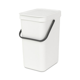 Встраиваемое мусорное ведро Sort & Go (12 л), Белый, артикул 109782