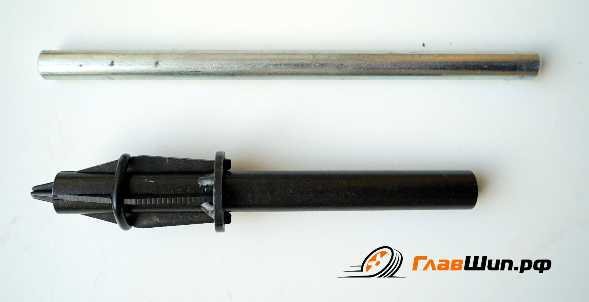 Ручное шиповальное устройство Мини, для установки ремонтных шипов.