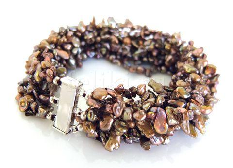 браслет из жемчуга (б-0680)