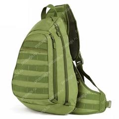 Тактический однолямочный рюкзак Cool Walker 641 Олива