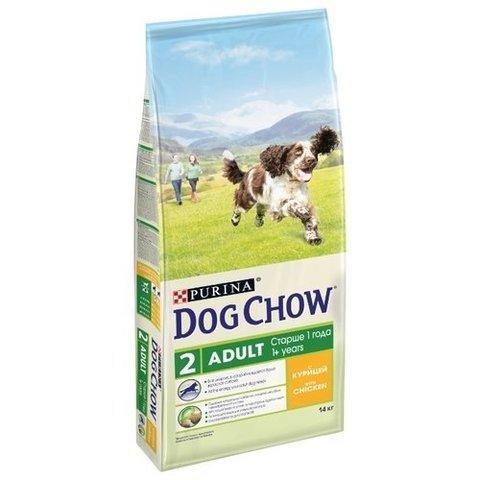 Dog Chow Adult с курицей 14 кг