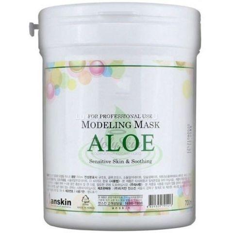 Anskin Original Маска альгинатная с экстр. алоэ успок. (банка) 700мл Aloe Modeling Mask  / container 240гр