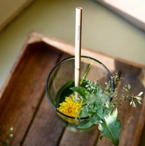 Бамбуковая трубочка