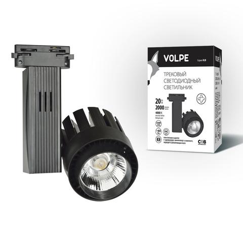 ULB-Q250 20W/NW/A BLACK Светильник светодиодный трековый. Мощность — 20 Вт. Диаметр — 3,5'.Световой поток — 1200 Лм. Цвет свечения — белый. Степень защиты IP20. Цвет корпуса — черный. Упаковка- коробка.