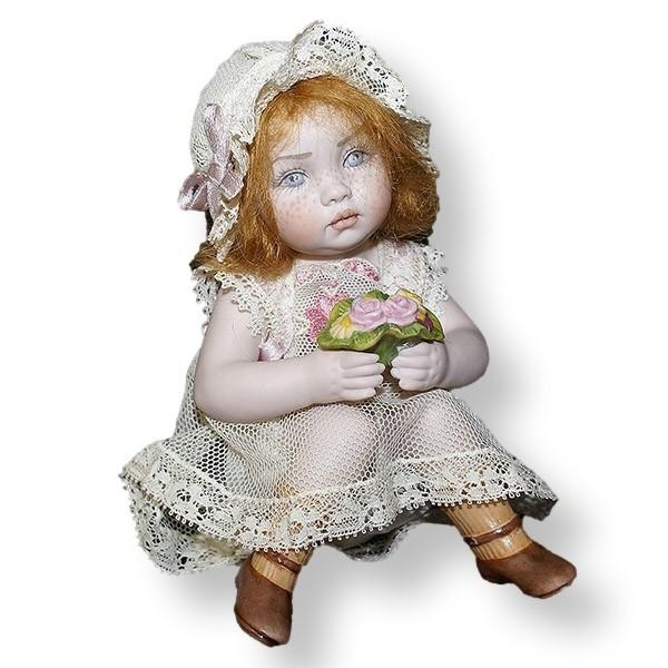 Статуэтки Кукла фарфоровая коллекционная Marigio Фиорелла kukla-farforovaya-kollektsionnaya-marigio-fiorella-italiya.jpeg