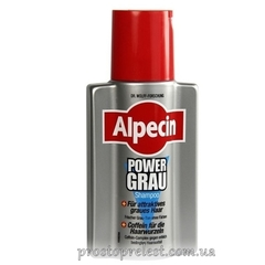 Alpecin Power Grau Shampoo - Шампунь для седых волос
