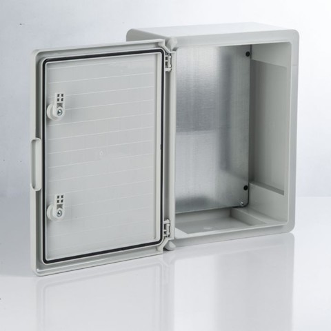Бокс пластиковый ЩМП-0-8, ABS, IP65, -45 до +75 С, навесной, (700x500x250) TDM