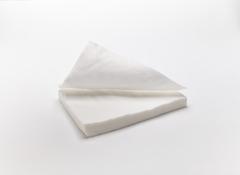Салфетки (Спанлейс, белый, 30х40 см, 100 шт/упк, стандарт)