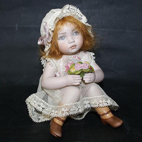 Кукла фарфоровая коллекционная Marigio Фиорелла