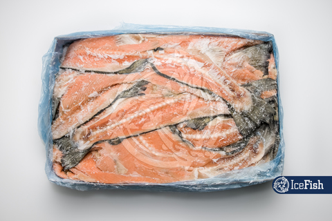 Хребты лосося вес,