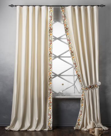 Комплект штор Форева сливочный