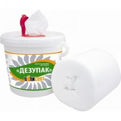Дезсредство Дезупак контейнер с рулоном салфеток №100