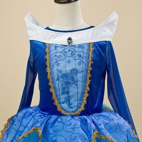 Спящая красавица платье принцесса Аврора синее
