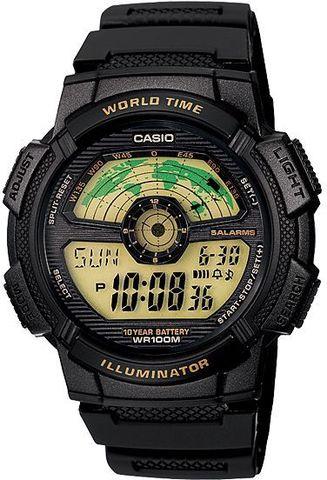 Купить Японские наручные часы Casio AE-1100W-1B по доступной цене