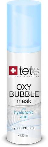 Кислородная пенная маска / OXY BUBBLE MASK/Tete