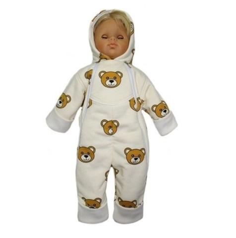 Комбинезон утепленный для новорожденного Медвежата