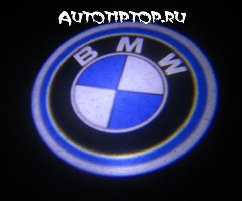 Лазерная проекция с логотипом BMW - БМВ
