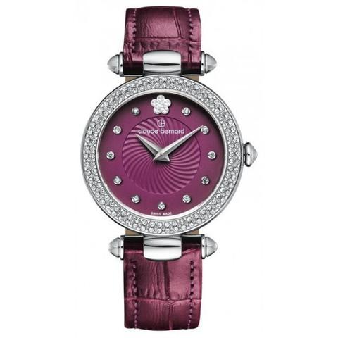 Купить женские наручные часы Claude Bernard 20504 3P VIOPN2 по доступной цене