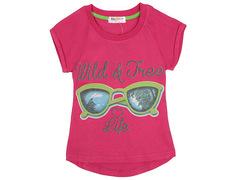 702-4 футболка детская, малиновая
