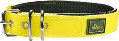 Ошейник для собак Hunter Convenience Comfort 35 (22-30 см) 2,4 см мягкая горловина водоотталкивающий материал, желт неон