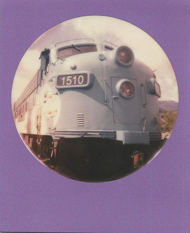 National Train Day Polaroid (Ellen Jo Roberts)