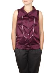B4101-58 блузка женская, сиреневая
