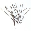 Комплект пинов - гвоздиков 50х0,8 мм (цвет - черный никель), 20 гр (примерно 85 шт)