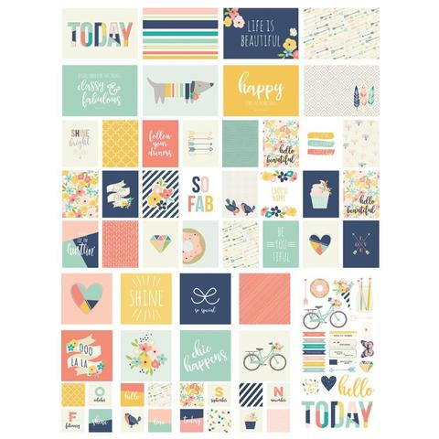 Набор карточек для Project Life -Sn@p! -Posh-119шт