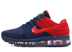 Кроссовки Мужские Nike Air Max 2017 Rubber Blue Red