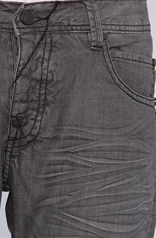 Джинсы Orisue серые потертые фото 6