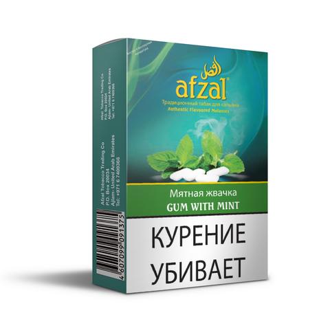 Табак Afzal Gum with Mint 50 г