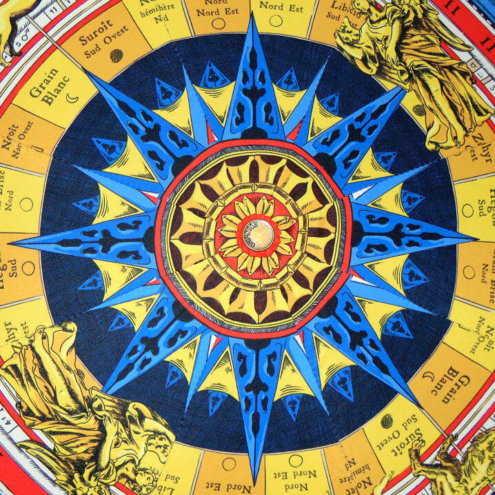 Зонт складной Moschino 8019-А-ZODIAC