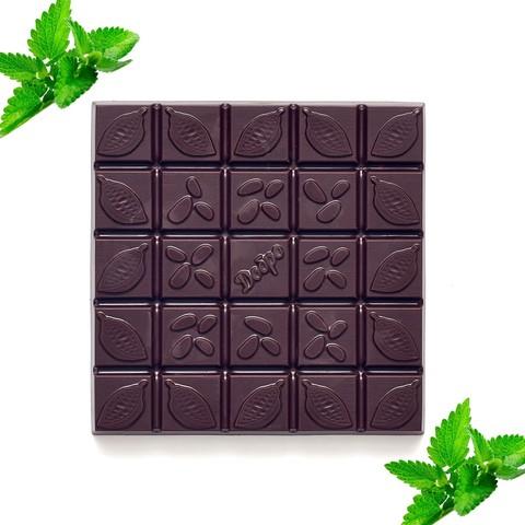 С мятой, 72% какао