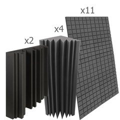 акустический поролон набор для помещения  10 м2 ОПТИМА