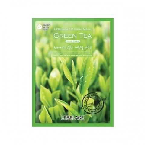 Маска LEBELAGE Green Tea Natural Mask 1 шт.