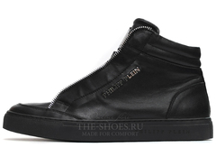 Кеды Мужские Philipp Plein High-Top Zipper