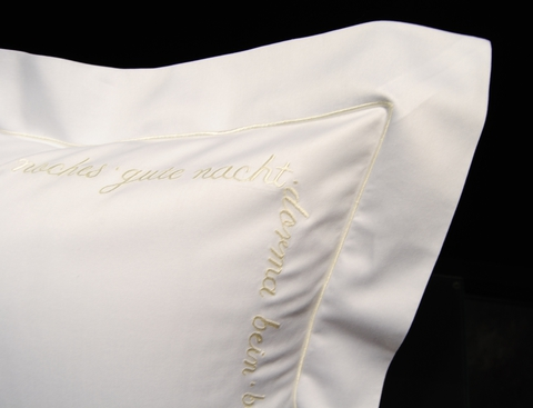 Пододеяльник 155х200 Christian Fischbacher Luxury Nights Sweet Dreams 557 желтый