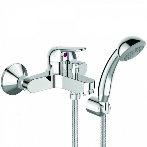 BA388AA VIDIMA FINE Настенный смеситель для ванны/душа, монтаж на стандартных эксцентриках