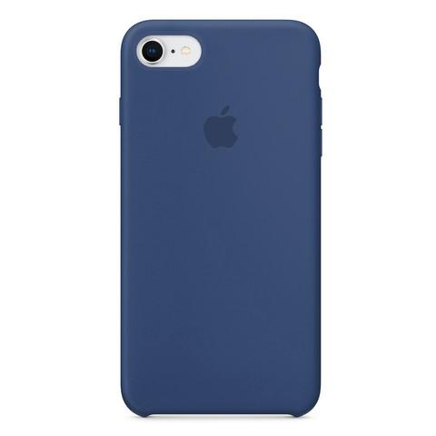 Чехол iPhone 8/7 Silicone Case /alaskan blue/ морской лёд 1:1