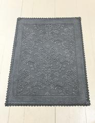 Элитный коврик Vintage 1 темно-серый от Luxberry