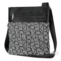 Мужская сумка планшет Calvin Klein A5 Grey 003