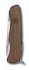 Нож Victorinox Forester, 111 мм, 10 функций, с фиксатором лезвия, деревянная рукоять