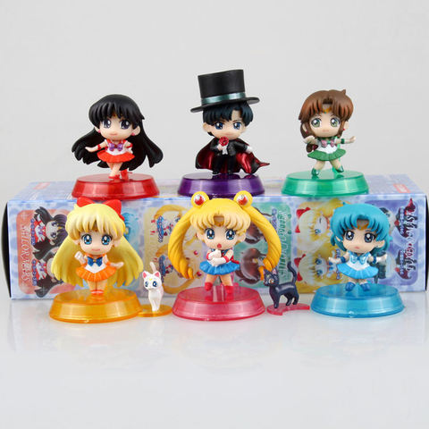 Sailor Moon Action Figure Toys Set 1