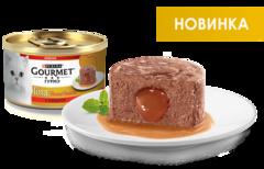 Gourmet Gold Нежная начинка с говядиной 85 г