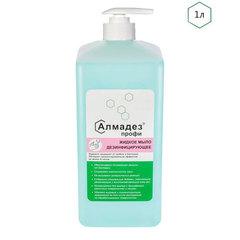 Антибактериальное мыло Дезинфицирующее мыло Алмадез-профи, 1 л, насос-дозатор Дезинфицирующее-мыло-Алмадез-профи-1-л-насос-дозатор.jpg