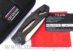 Нож CKF T14W (new T90) Alexey Konygin, M390, Copper, Ti