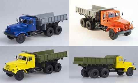 KRAZ-256B1 dump truck 1:43 DeAgostini Auto Legends USSR Trucks #1