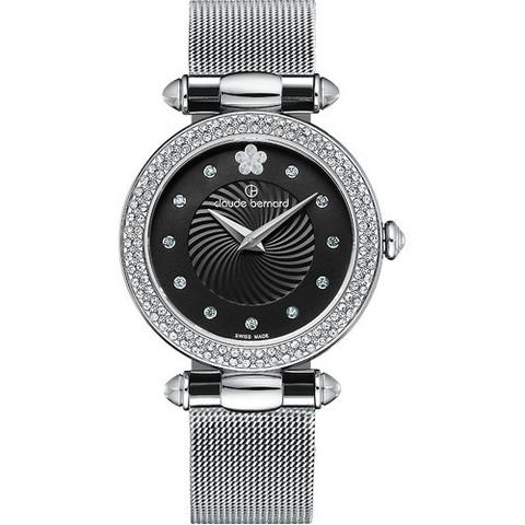 Купить женские наручные часы Claude Bernard 20504 3PM NPN2 по доступной цене